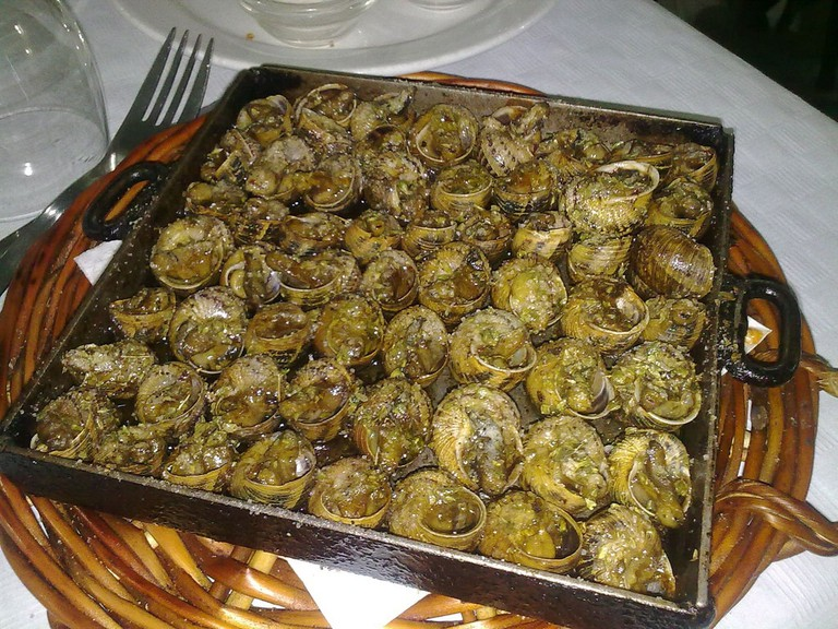 Caracoles de la luna or Spanish snails