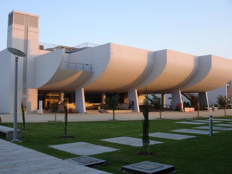 modern buildings, Nicosia, Cyprus
