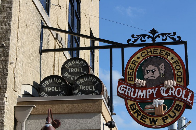 The Grumpy Troll Pub in Mount Horeb | © Jason Dean/flickr