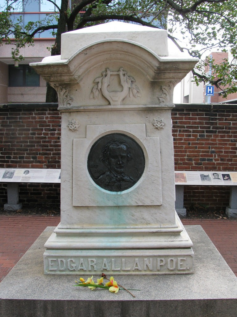 Edga Allan Poe's Grave - Baltimore for Book Lovers