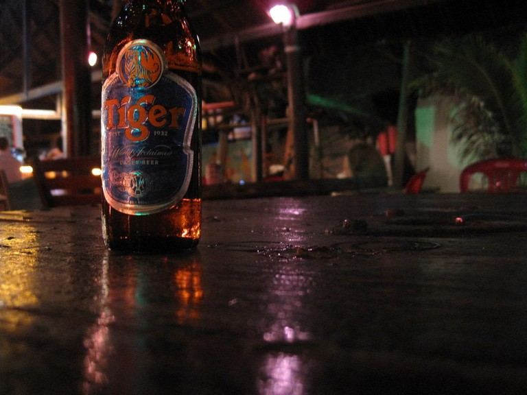 Mui Ne Beach: Tiger beer in Pogo bar