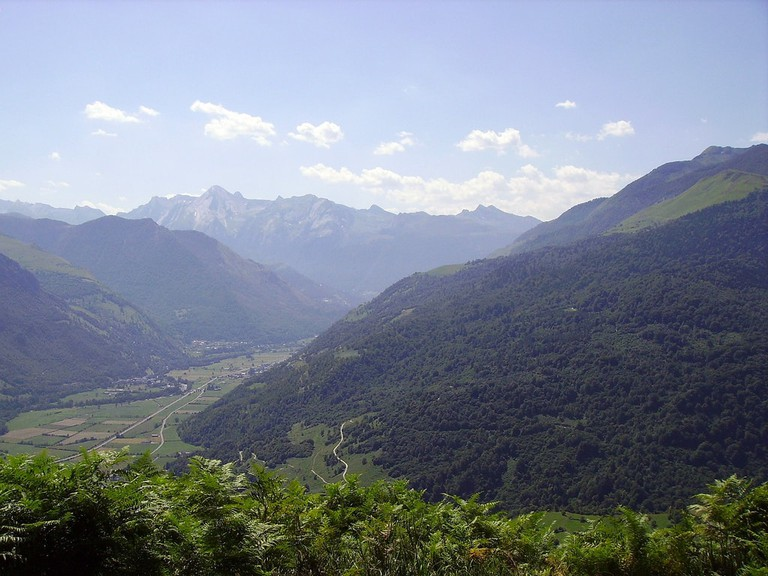 Deep in the Pyrenees near the village of Laruns