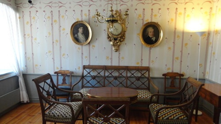 One of the interior rooms of Turku Castle