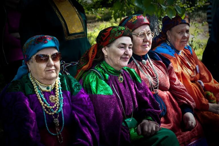 The town of Lovozero hosts several festivals that celebrate Sami culture