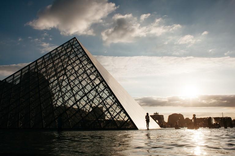 France-Paris-Louvre
