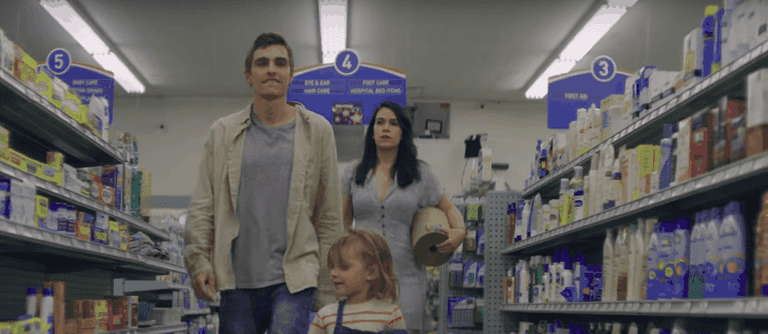 Dave Franco and Abbi Jacobson in 6 Balloons