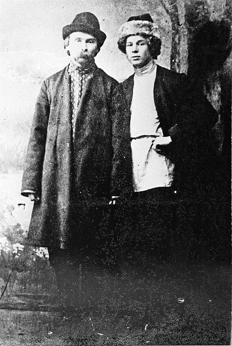 Nikolia Klyuev and Sergei Yesenin