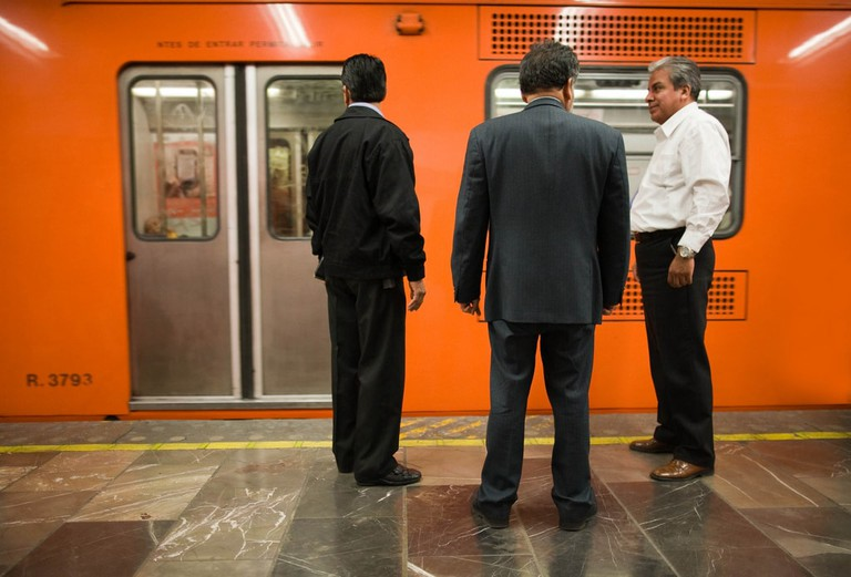 Keep your wallet out of sight on the CDMX metro