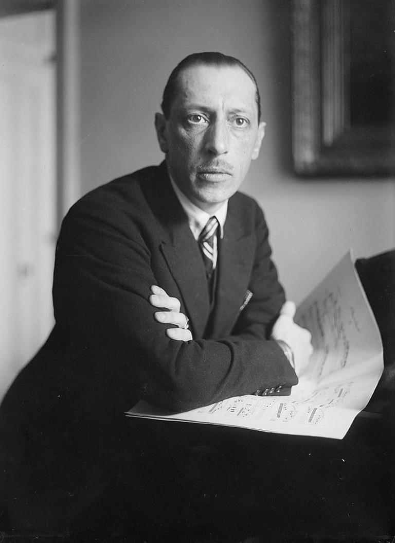 Photo of Stravinsky