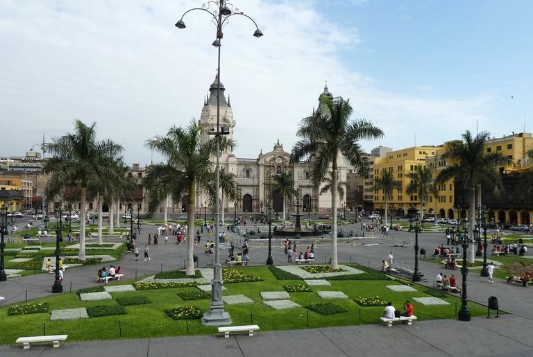 A Look at Lima's Historical plaza de armas