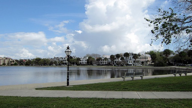 Colonial Lake in Charleston, South Carolina l