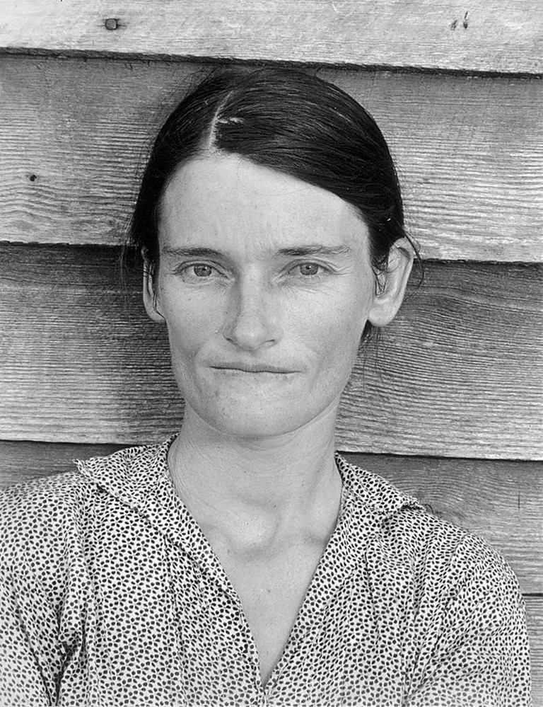 Evans's photo of Allie Mae Burroughs, a symbol of the Great Depression