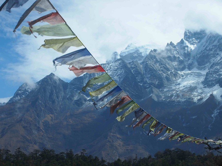 Views on the Everest Base Camp Trek