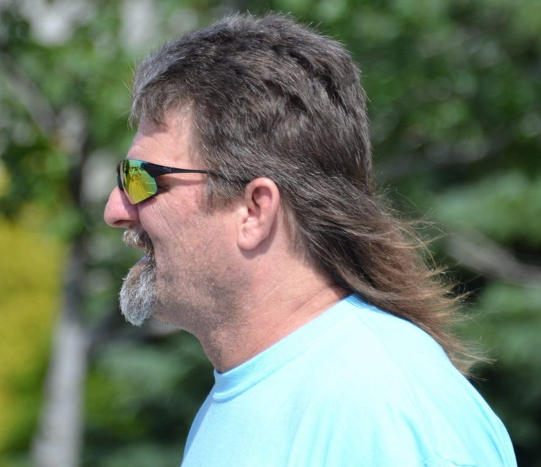 Mullet hairstyle