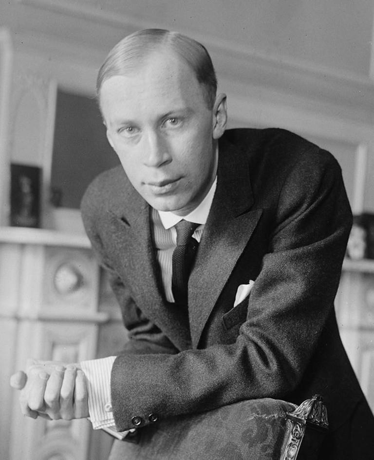 Sergei Prokofiev in 1918