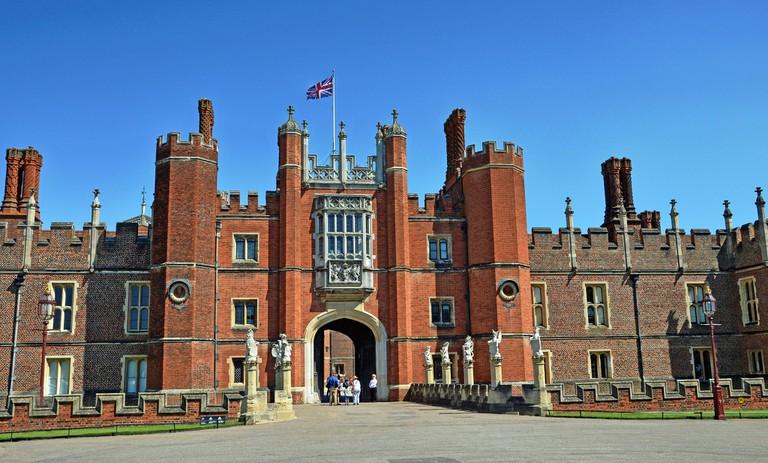 Hampton Court Palace, Wolsey's former residence