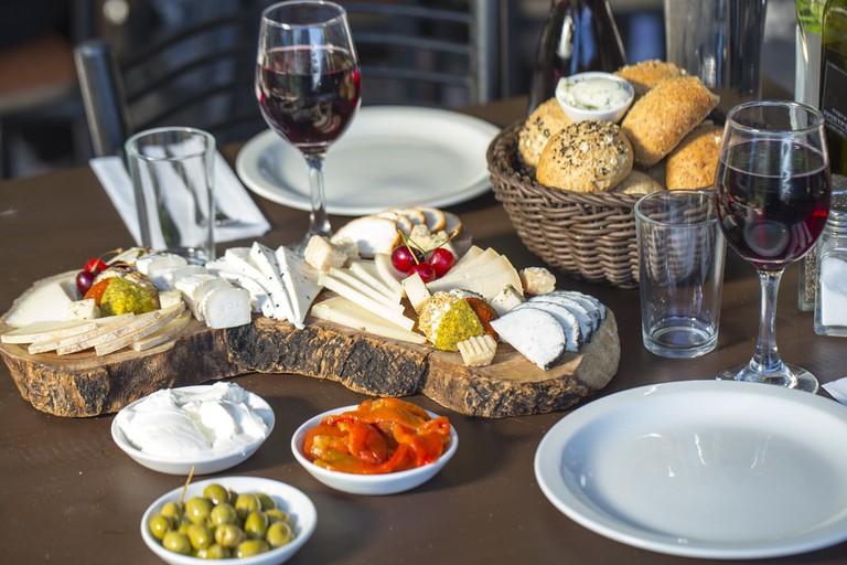 Israel Cheese Breakfast