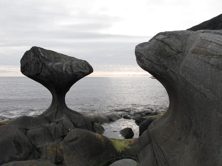 Kannesteinen rock formation
