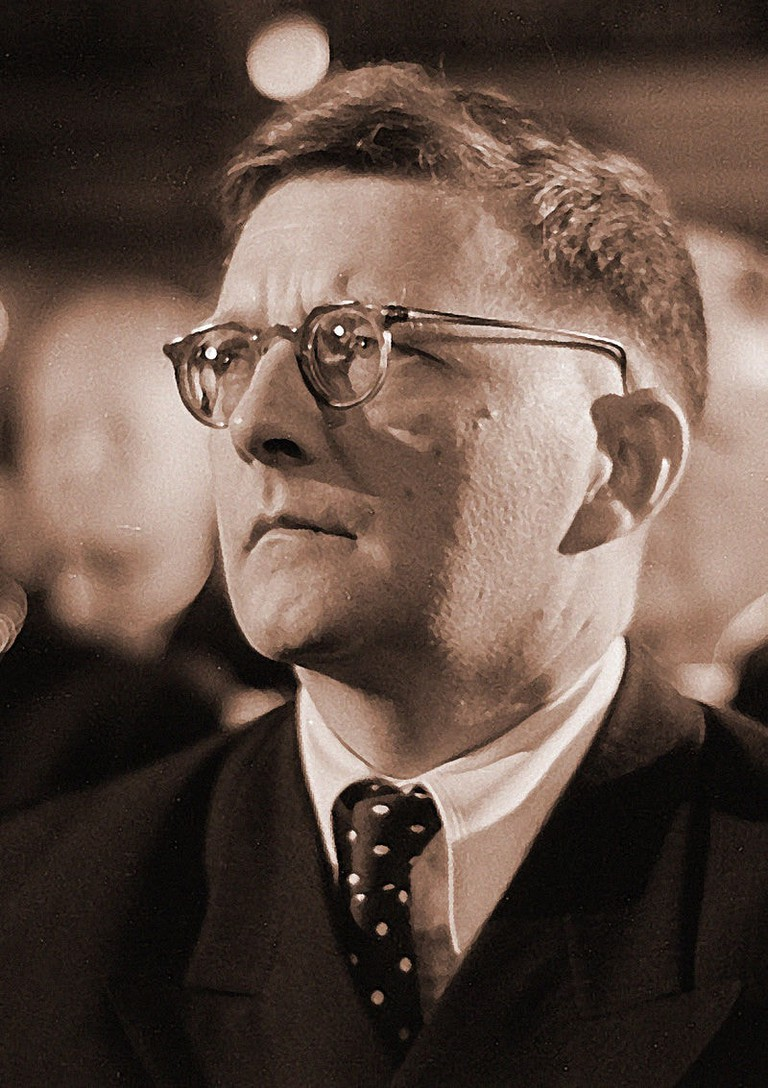 Photo of Shostakovich in 1950