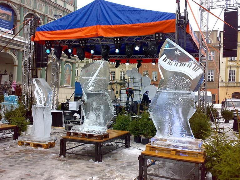 Ice Festival, Poznań | © MOs810 / WikiCommons