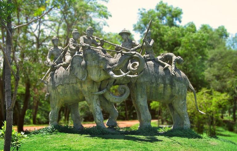 Naresuan's elephant battle