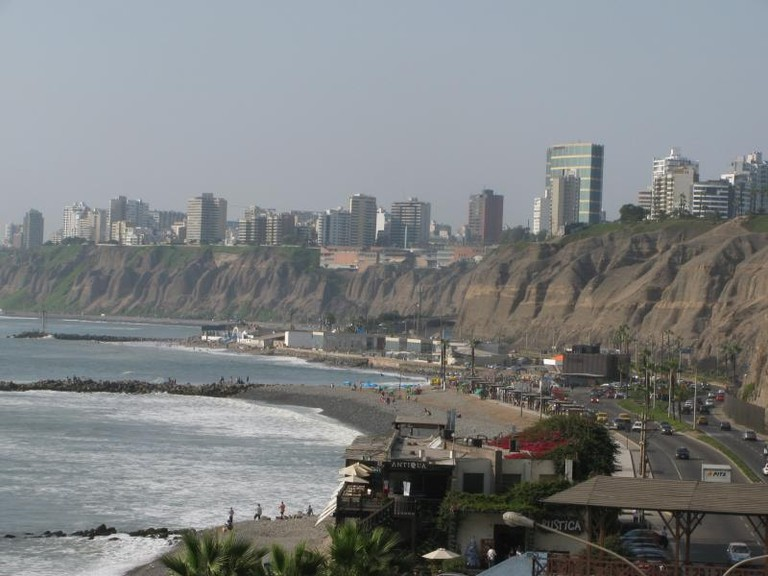 Miraflores seen from Barranco
