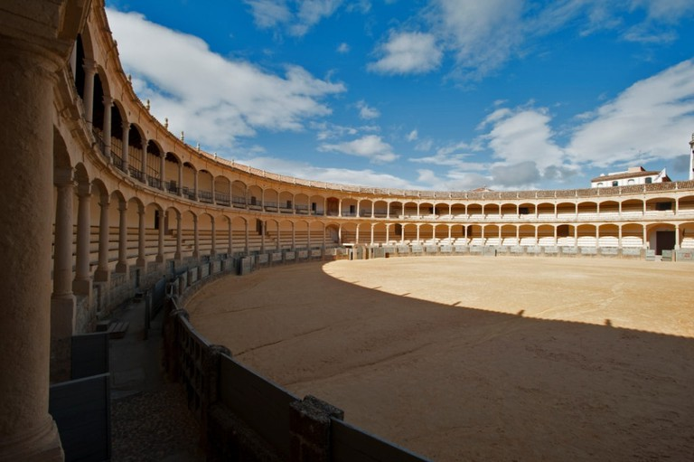 Ronda's 18th-century bullring, birthplace of the modern Spanish bullfight