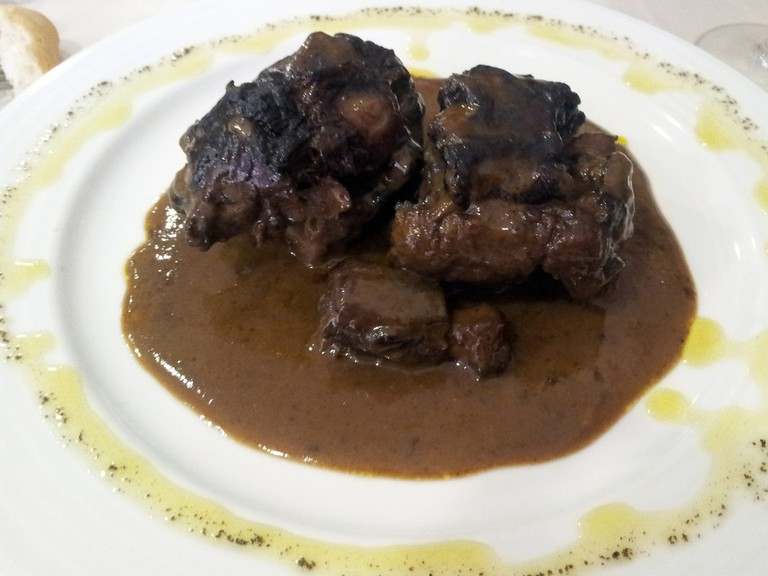 Rabo de toro (bull's tail stew)