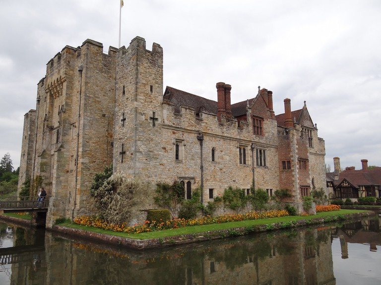 Hever Castle, Anne's childhood home