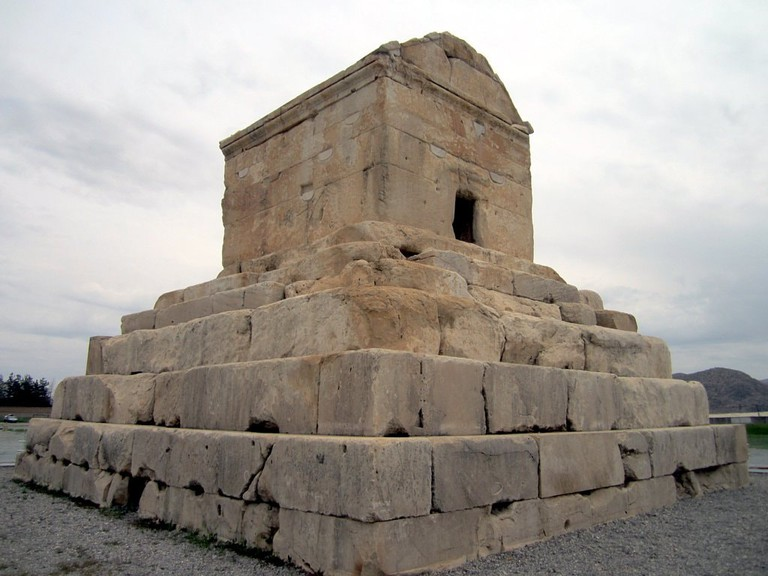Tomb of Cyrus the Great of the Persian Empire