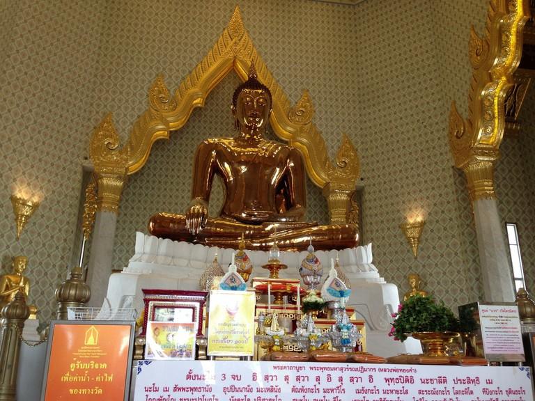 "<a href=""https://www.flickr.com/photos/kalleboo/9107100384/"" rel=""noopener"" target=""_blank"">World's biggest solid gold Buddha"