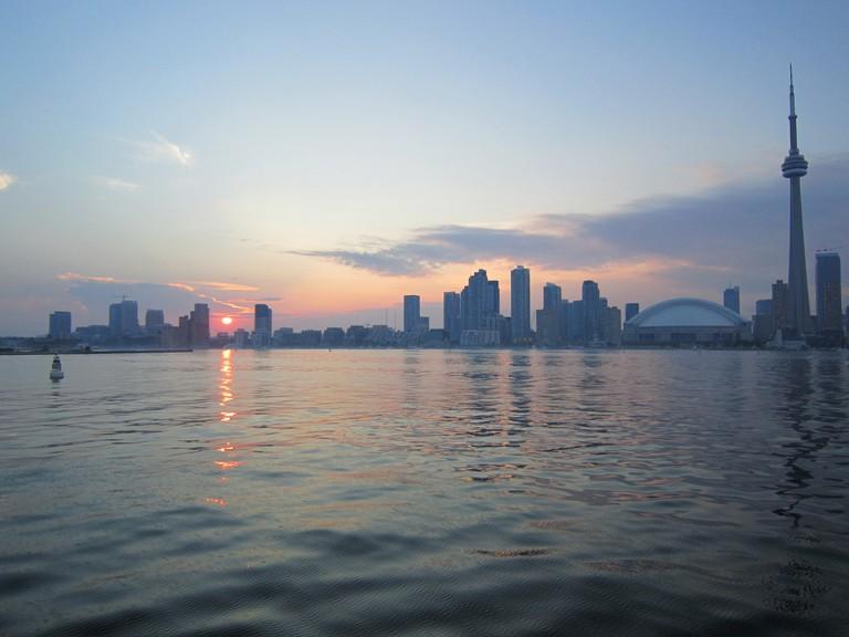 Toronto on Lake Ontario
