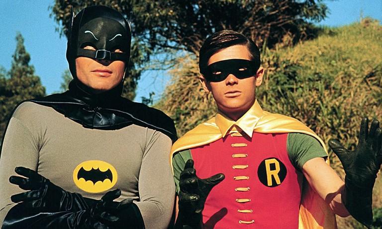 Adam West and Burt Ward in Batman.