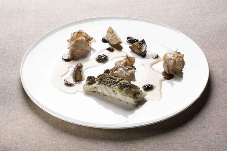 Gourmet fish at Magorabin restaurant, Turin | Courtesy Magorabin