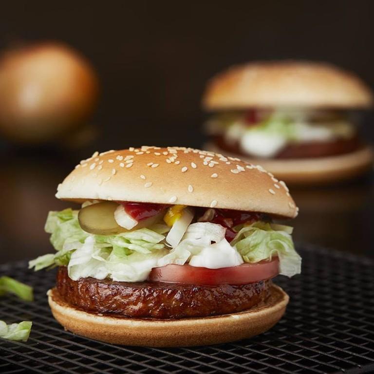 Anamma veg burger, Courtesy of Anamma Sverige