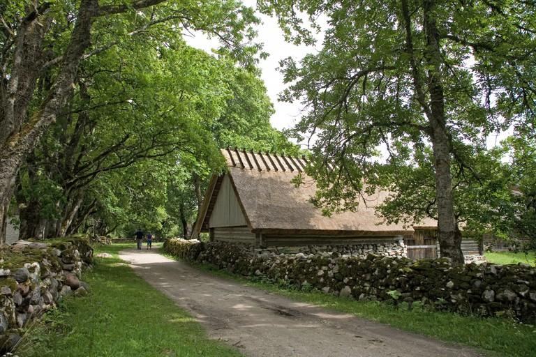Museum at Koguva Village, Muhu Island, Estonia