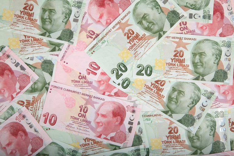 Turkisha Lira notes