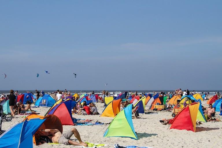 St. Peter-Ording beach