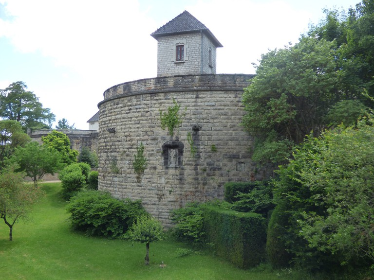 A stroll along the ramparts of Beaune offers a different perspective of the town