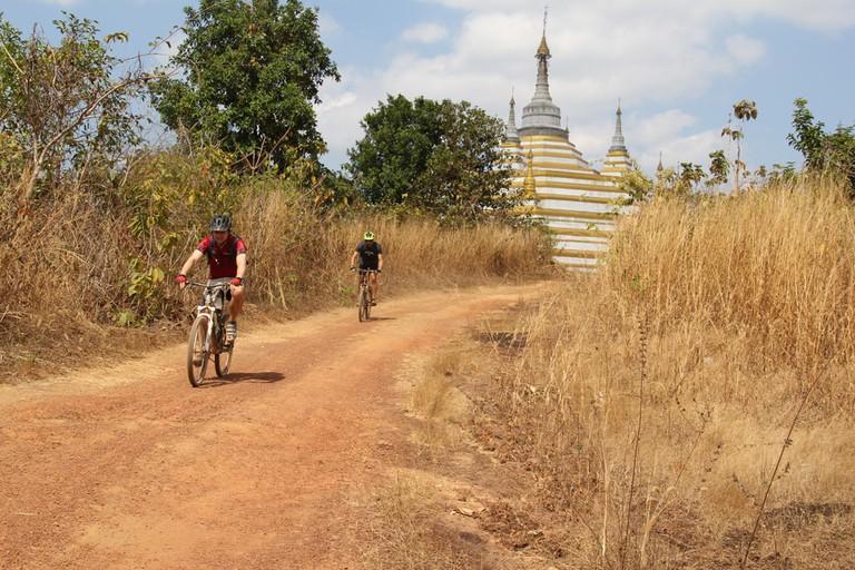 Bike World Myanmar outing
