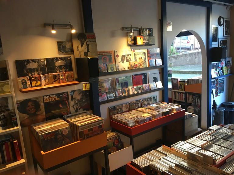 Vinyl paradise at Blutopia