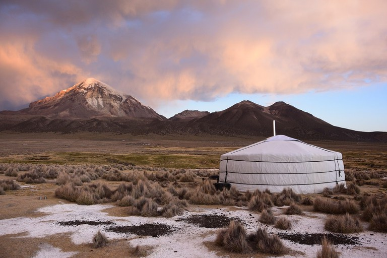 Bolivia_Yurt Camp_Sajama (2)