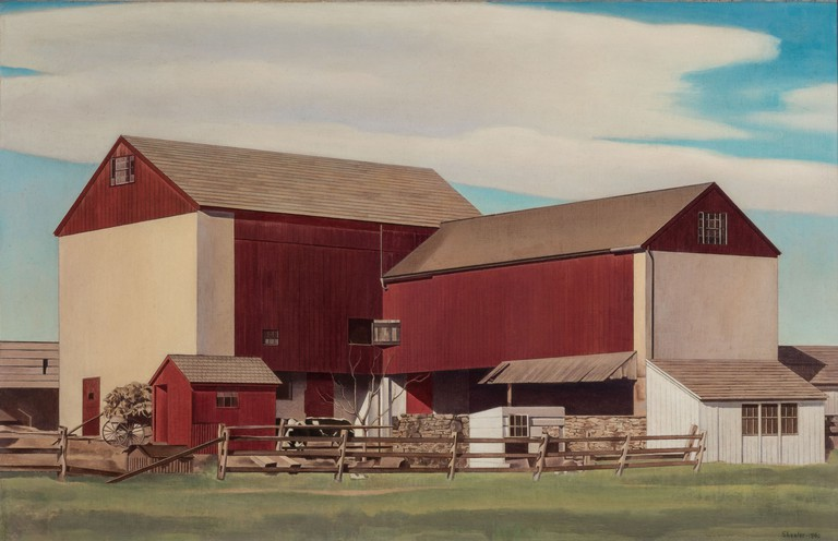 Bucks County Barn (c) Estate of Charles Sheeler