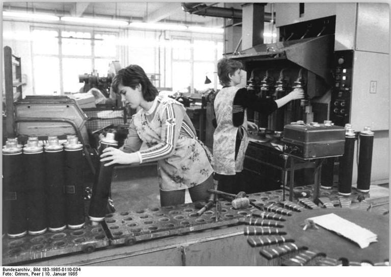 Berlin, polnische Gastarbeiterin