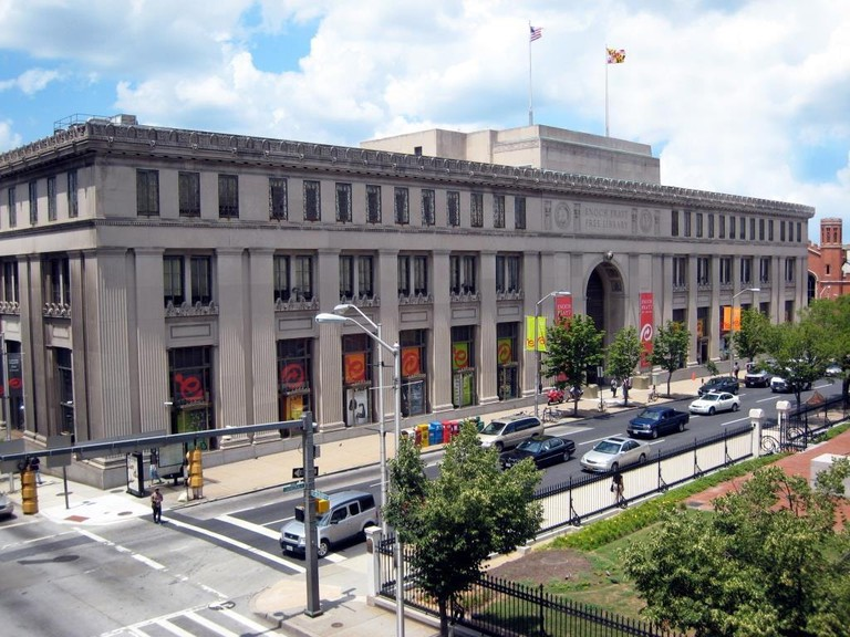 Most Beautiful Libraries Baltimore Enoch Pratt Central Library