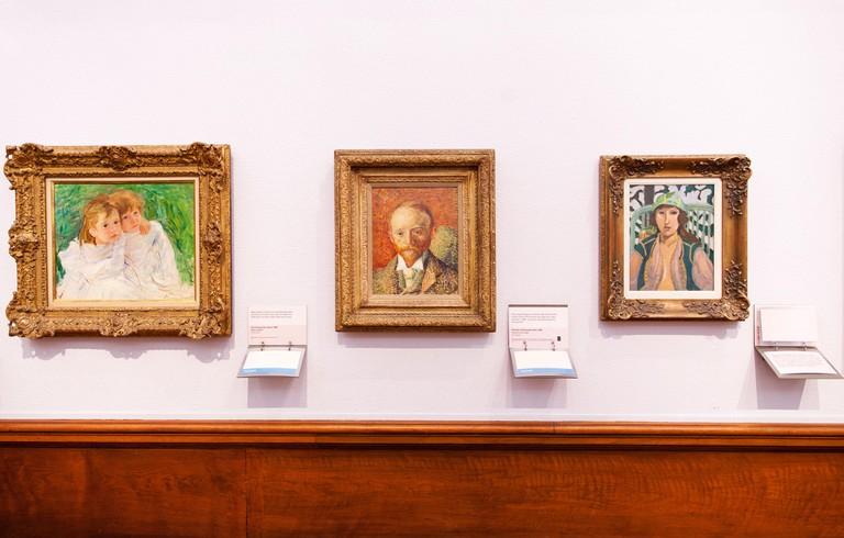 Van Gogh art work at Kelvingrove Art Gallery and Museum in Glasgow