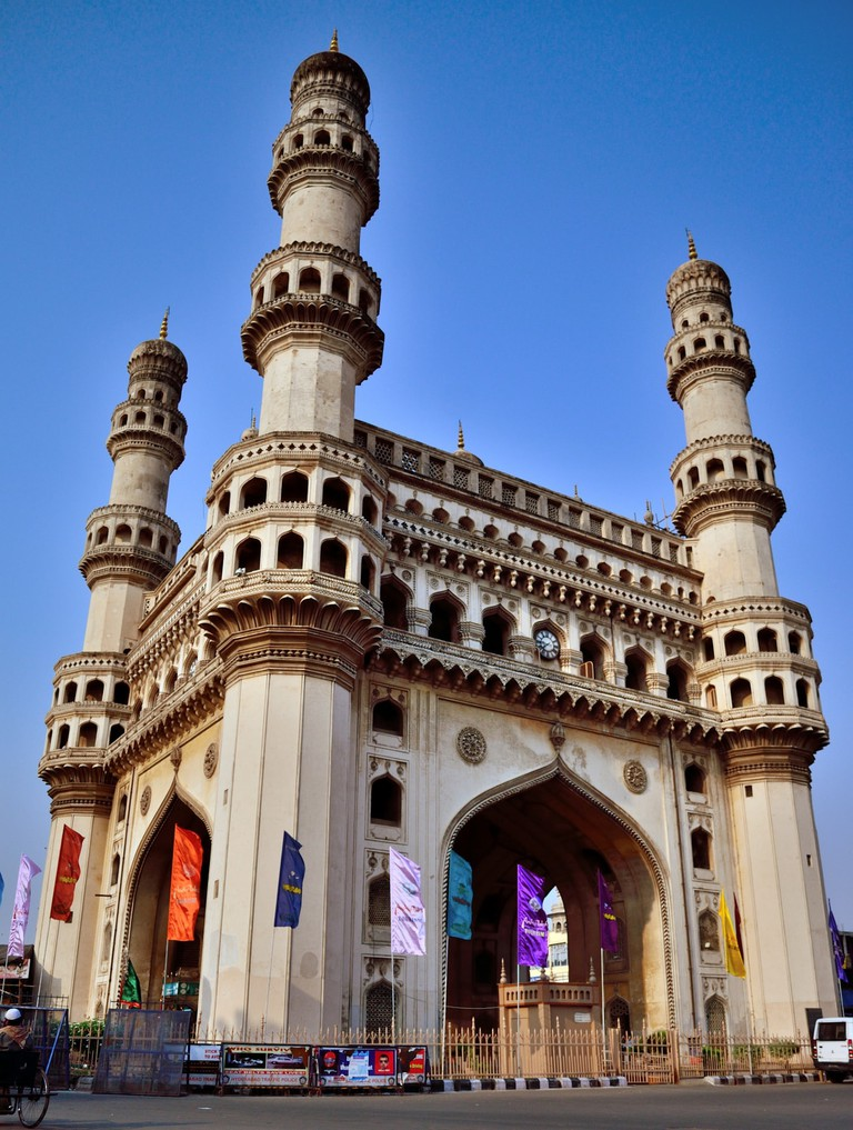 Charminar is an 16th century edifice that stands out with its stunning Islamic archiecture