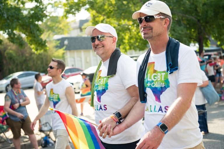 Dallas Pride is held in Oak Lawn every year