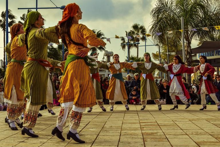 Cypriot dancers