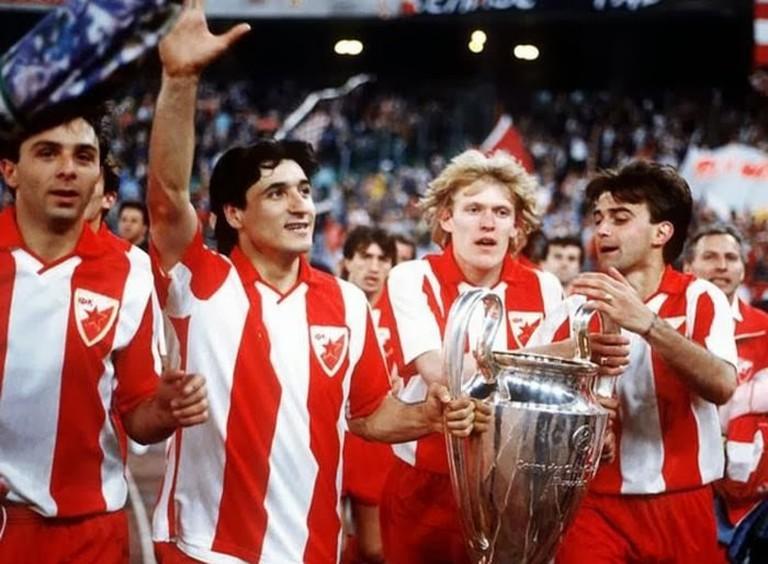 Red Star were European champions in 1991